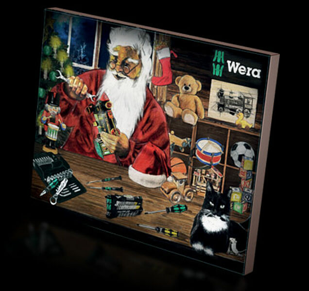 Wera As Every Year By Wera Advent Calendar Makes The